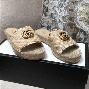 Gucci Espadrille Sandal